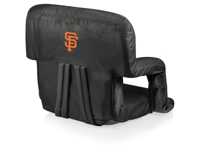 San Francisco Giants Picnic Time Ventura Portable Reclining Stadium Seat
