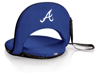 Atlanta Braves Picnic Time Oniva Portable Reclining Seat