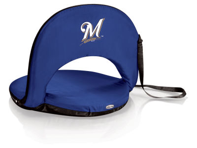 Milwaukee Brewers Picnic Time Oniva Portable Reclining Seat