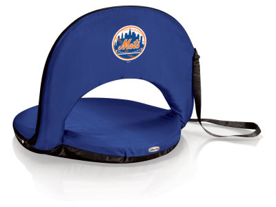 New York Mets Picnic Time Oniva Portable Reclining Seat