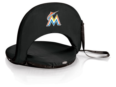 Miami Marlins Picnic Time Oniva Portable Reclining Seat