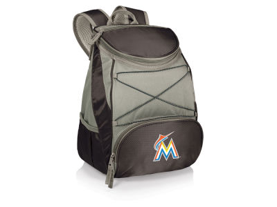 Miami Marlins Picnic Time PTX Backpack Cooler