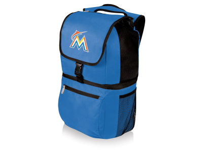 Miami Marlins Picnic Time Zuma Cooler Backpack