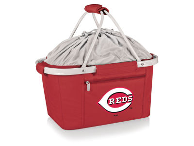 Cincinnati Reds Picnic Time Metro Basket Collapsible Cooler Tote