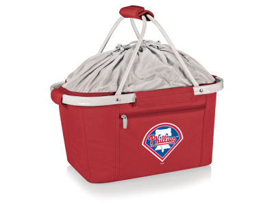 Philadelphia Phillies Picnic Time Metro Basket Collapsible Cooler Tote