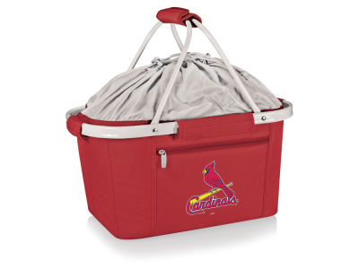 St. Louis Cardinals Picnic Time Metro Basket Collapsible Cooler Tote