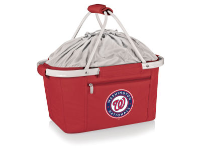 Washington Nationals Picnic Time Metro Basket Collapsible Cooler Tote