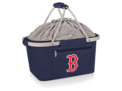 Boston Red Sox Picnic Time Metro Basket Collapsible Cooler Tote