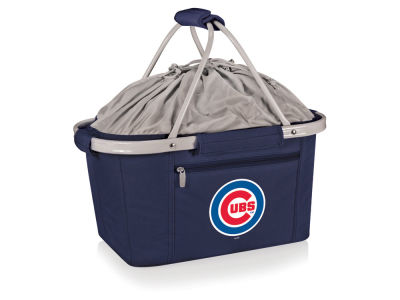 Chicago Cubs Picnic Time Metro Basket Collapsible Cooler Tote