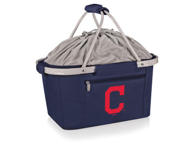 Cleveland Indians Picnic Time Metro Basket Collapsible Cooler Tote