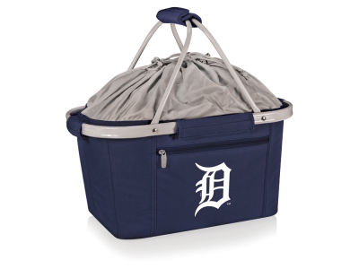 Detroit Tigers Picnic Time Metro Basket Collapsible Cooler Tote