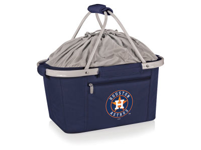 Houston Astros Picnic Time Metro Basket Collapsible Cooler Tote