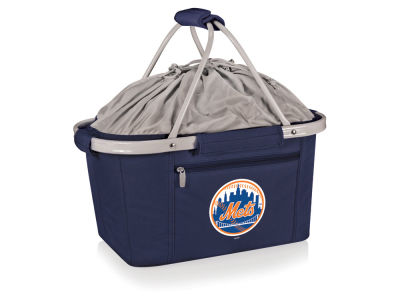 New York Mets Picnic Time Metro Basket Collapsible Cooler Tote