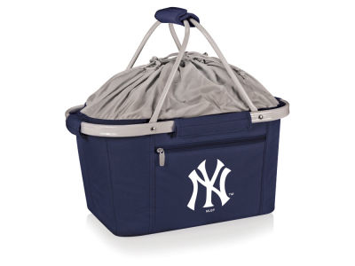 New York Yankees Picnic Time Metro Basket Collapsible Cooler Tote