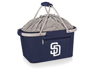 San Diego Padres Picnic Time Metro Basket Collapsible Cooler Tote
