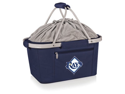 Tampa Bay Rays Picnic Time Metro Basket Collapsible Cooler Tote
