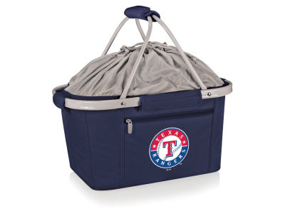 Texas Rangers Picnic Time Metro Basket Collapsible Cooler Tote