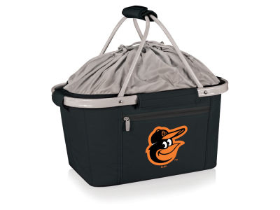 Baltimore Orioles Picnic Time Metro Basket Collapsible Cooler Tote
