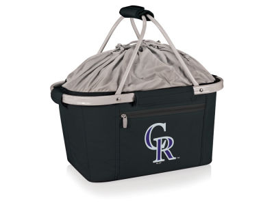 Colorado Rockies Picnic Time Metro Basket Collapsible Cooler Tote