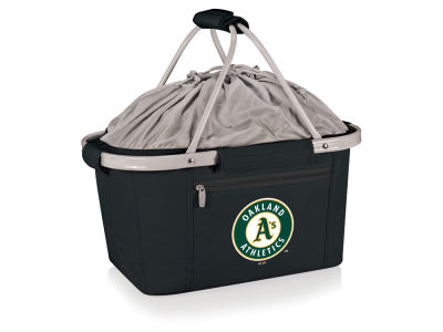 Oakland Athletics Picnic Time Metro Basket Collapsible Cooler Tote