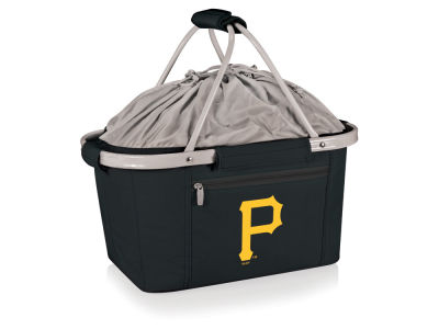 Pittsburgh Pirates Picnic Time Metro Basket Collapsible Cooler Tote