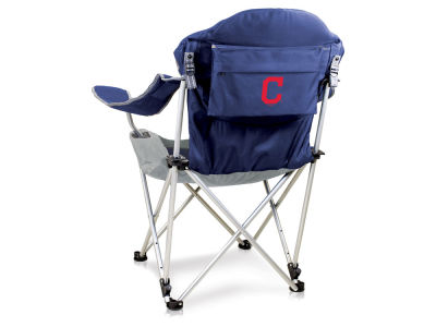 Cleveland Indians Picnic Time Reclining Camp Chair