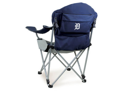 Detroit Tigers Picnic Time Reclining Camp Chair