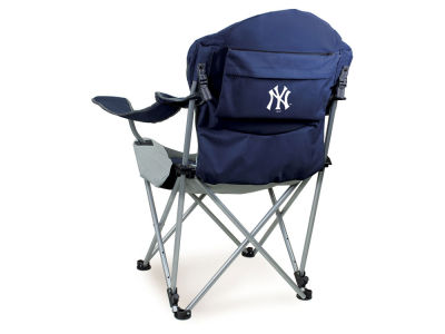New York Yankees Picnic Time Reclining Camp Chair