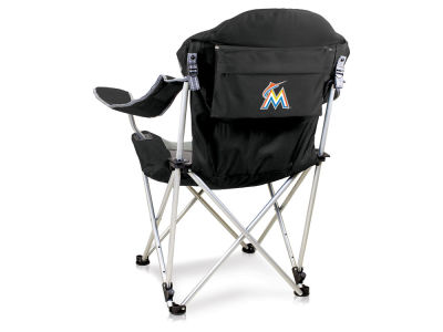 Miami Marlins Picnic Time Reclining Camp Chair