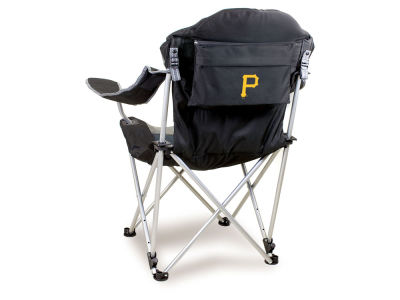 Pittsburgh Pirates Picnic Time Reclining Camp Chair