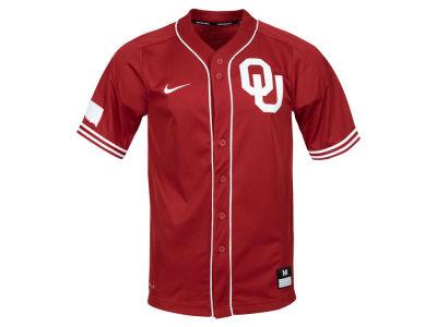 ... limited football jersey crimson feb76 5766e  france oklahoma sooners  nike ncaa mens replica baseball jersey fdedb cd4c7 86e6982d0