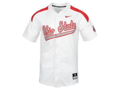 362ee0996 Ohio State Buckeyes Nike NCAA Men s Replica Baseball Jersey
