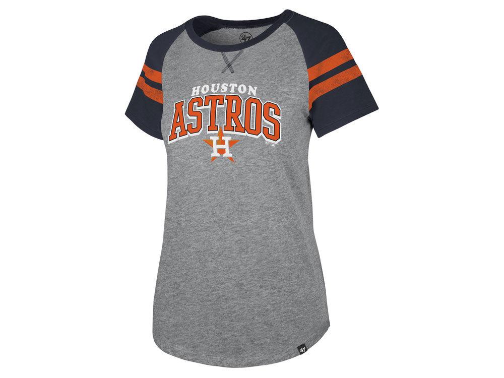 Houston Astros  47 MLB Women s Flyout T-Shirt  f19fb48fe5