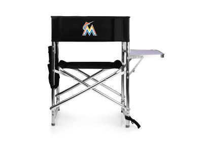 Miami Marlins Picnic Time Sports Chair