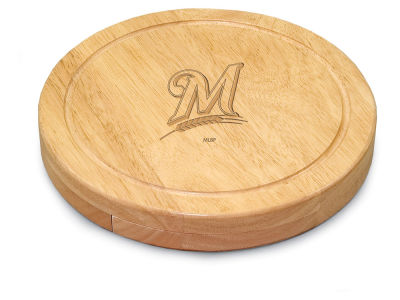 Milwaukee Brewers Picnic Time Circo Cheese Board & Tools Set