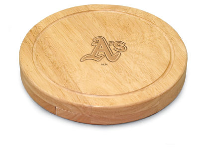 Oakland Athletics Picnic Time Circo Cheese Board & Tools Set