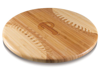 Philadelphia Phillies Picnic Time MLB Home Run! Baseball Cutting Board & Serving Tray