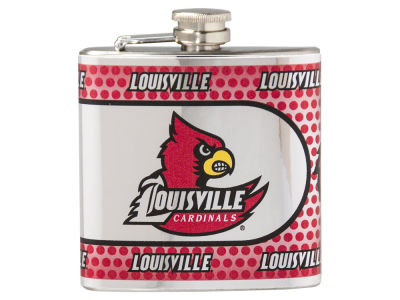 Louisville Cardinals Great American 6oz Hip Flask