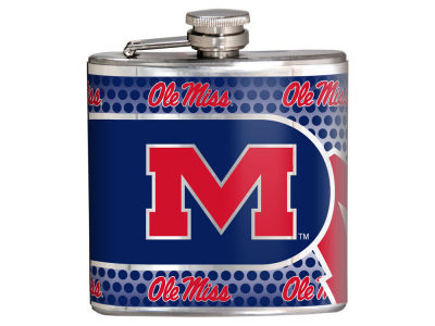 Ole Miss Rebels Great American 6oz Hip Flask