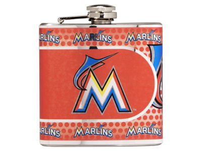 Miami Marlins Great American 6oz Hip Flask