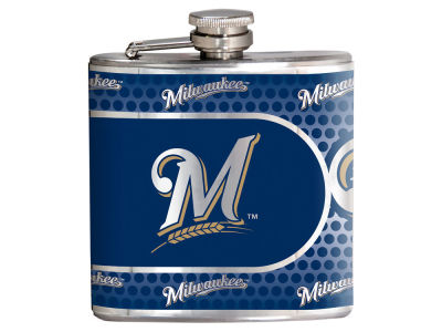 Milwaukee Brewers Great American 6oz Hip Flask