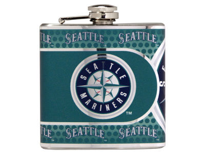 Seattle Mariners Great American 6oz Hip Flask