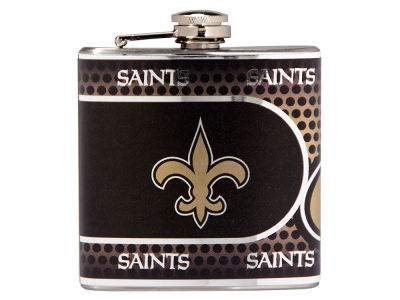 New Orleans Saints Great American 6oz Hip Flask