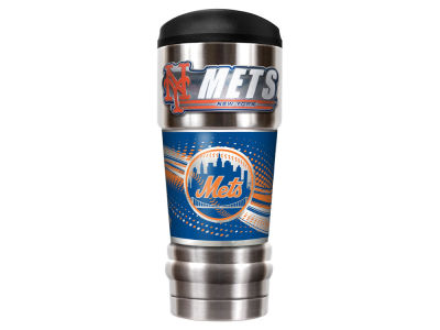 New York Mets Great American The MVP 18oz Vacuum Insulated Travel Tumbler