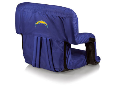 Los Angeles Chargers Picnic Time Ventura Portable Reclining Stadium Seat