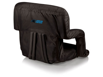 Carolina Panthers Picnic Time Ventura Portable Reclining Stadium Seat