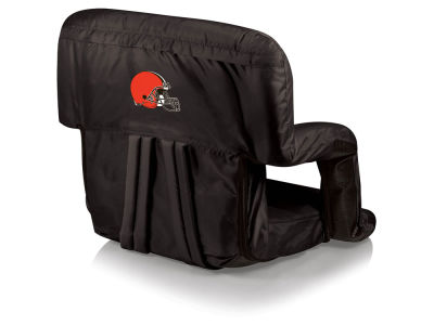 Cleveland Browns Picnic Time Ventura Portable Reclining Stadium Seat