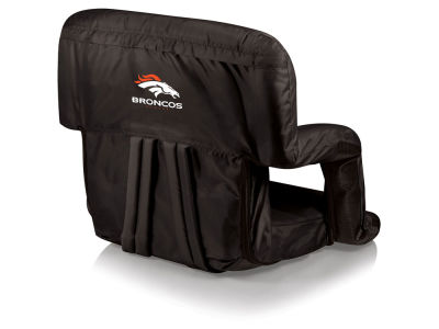 Denver Broncos Picnic Time Ventura Portable Reclining Stadium Seat