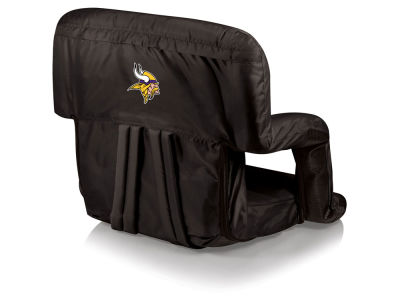 Minnesota Vikings Picnic Time Ventura Portable Reclining Stadium Seat