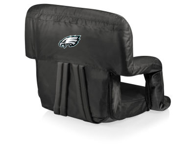 Philadelphia Eagles Picnic Time Ventura Portable Reclining Stadium Seat